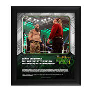 Braun Strowman Money In The Bank 2020 15 x 17 Limited Edition Plaque