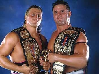The British Bulldog and Owen Hart