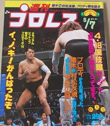 Weekly Pro Wrestling No. 91