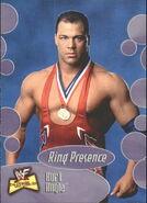 2001 WWF The Ultimate Diva Collection (Fleer) Kurt Angle 64
