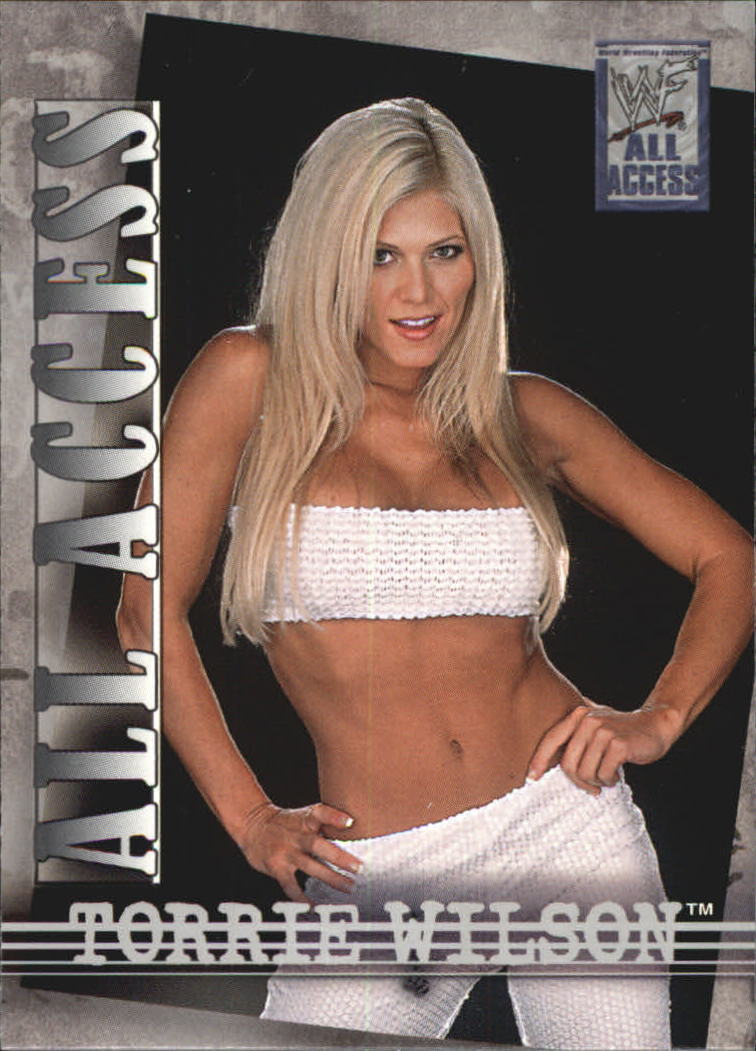 2002 WWF All Access (Fleer) Torrie Wilson (No.43)