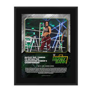 Bayley Money In The Bank 2020 10 x 13 Limited Edition Plaque