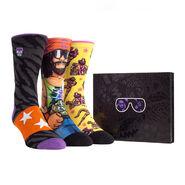 Macho Man 3-Pair Rock' Em Socks Box Set