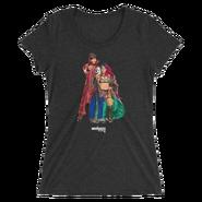 The Miz & Asuka MMC Photo Women's Tri-Blend T-Shirt