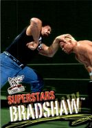 2001 WWF WrestleMania (Fleer) Bradshaw 57