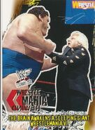 2001 WWF WrestleMania (Fleer) The Brain Awakens A Sleeping Giant 86