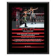 Daniel Bryan TLC 2018 10 x 13 Commemorative Plaque