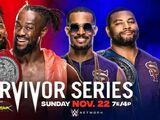 Survivor Series 2020 The New Day v The Street Profits