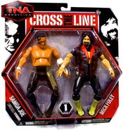 TNA Cross the Line 1 Samoa Joe & Mick Foley