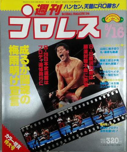 Weekly Pro Wrestling No. 270