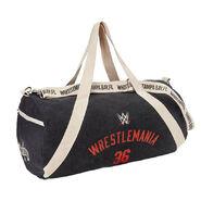 WrestleMania 36 Canvas Duffle Bag