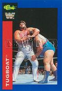 1991 WWF Classic Superstars Cards Tugboat 80