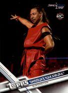 2017 WWE (Topps) Then, Now, Forever Shinsuke Nakamura 160