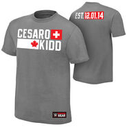 Cesaro & Tyson Kidd Established Authentic T-Shirt