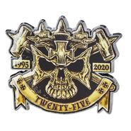 Triple H 25 Years Limited Edition Pin