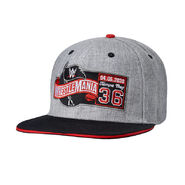 WrestleMania 36 Grey Snapback Baseball Hat