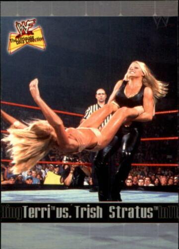 2001 WWF The Ultimate Diva Collection (Fleer) Terri vs. Trish Stratus (No.85)