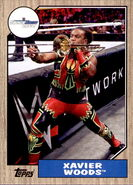 2017 WWE Heritage Wrestling Cards (Topps) Xavier Woods 38