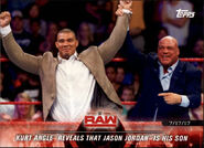 2018 WWE Road to Wrestlemania Trading Cards (Topps) Kurt Angle 44