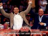 2018 WWE Road to WrestleMania Trading Cards (Topps) Kurt Angle (No.44)