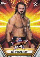 2019 WWE SummerSlam (Topps) Drew McIntyre 8