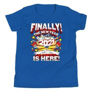 2021 The New Year is Here Youth T-Shirt