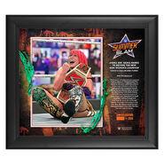Asuka SummerSlam 2020 15x17 Commemorative Plaque