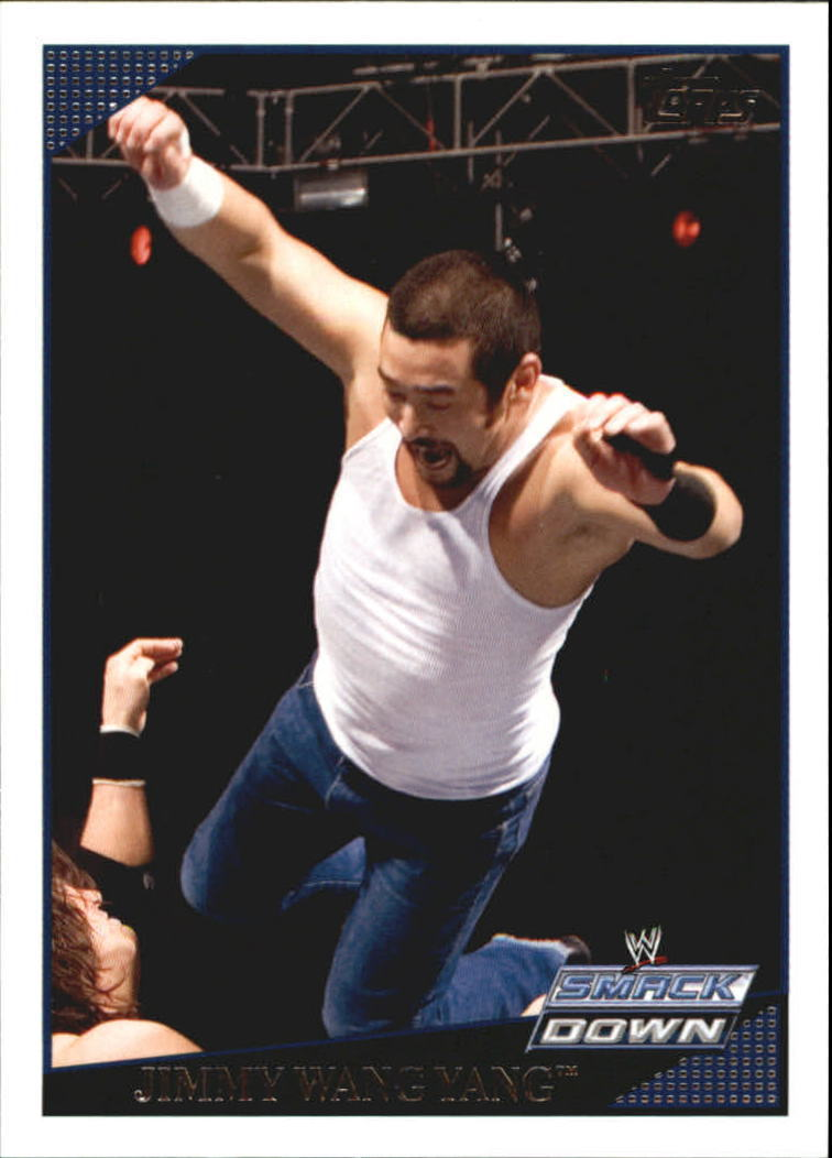2009 WWE (Topps) Jimmy Wang Yang (No.64)