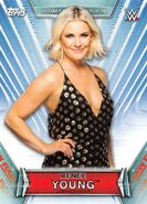 2019 WWE Women's Division (Topps) Renee Young 16