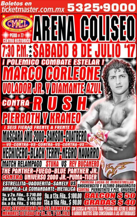 CMLL Sabados De Coliseo (July 8, 2017)