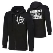 Dean Ambrose Unstable Youth Lightweight Raglan Full-Zip Hoodie Sweatshirt