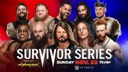 SS 2020 Men's Survivor Series Elimination Match