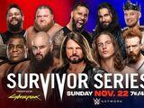 Survivor Series 2020 Men's Tag Team Elimination Match