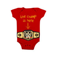 The Champ is Here Baby Creeper