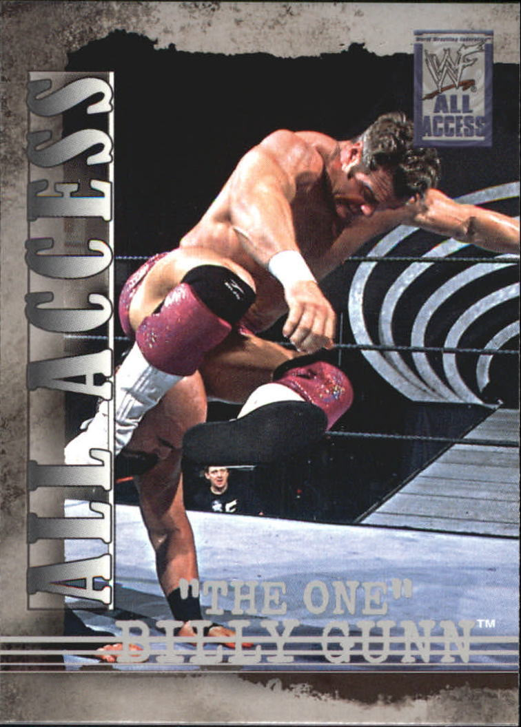 2002 WWF All Access (Fleer) Billy Gunn (No.12)