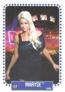 2008 WWE Heritage IV Trading Cards (Topps) Maryse 66