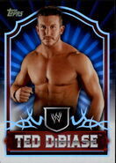 2011 Topps WWE Classic Wrestling Ted DiBiase 65