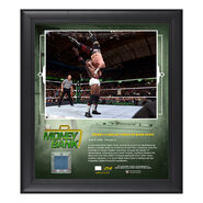 Bobby Lashley Money in The Bank 2018 15 x 17 Framed Plaque w Ring Canvas