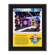 Finn Balor NXT TakeOver In Your House 2020 10 x 13 Limited Edition Plaque