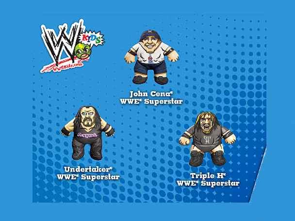 2010 WWE Burger King toyline