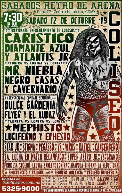 CMLL Sabados De Coliseo (October 12, 2019)