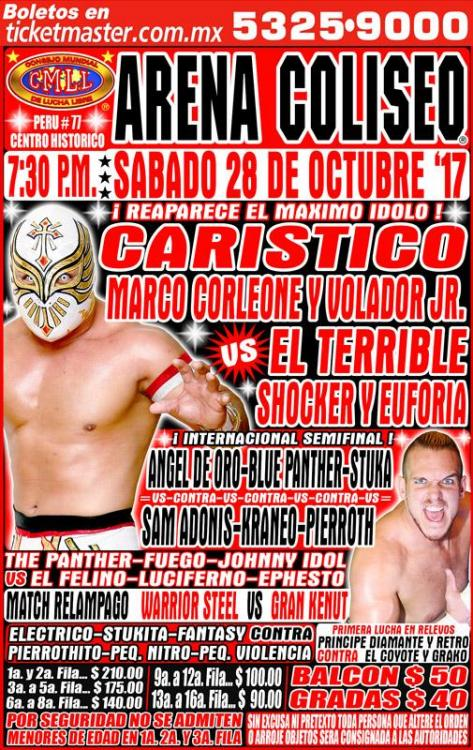 CMLL Sabados De Coliseo (October 28, 2017)