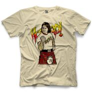 Roddy Piper Piper Fist by 500 Level T-Shirt