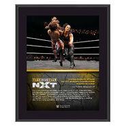 Shayna Baszler NXT TakeOver XXV 10 x 13 Commemorative Plaque
