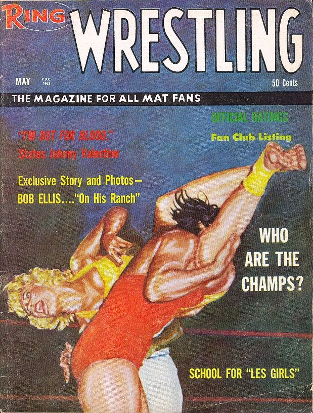 The Ring Wrestling - May 1963