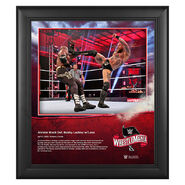 WrestleMania 36 Aleister Black 15 x 17 Limited Edition Plaque