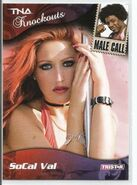 2009 TNA Knockouts (Tristar) SoCal Val & Consequences Creed 85