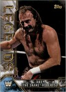 2017 Legends of WWE (Topps) Jake The Snake Roberts 46