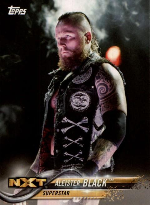 2018 WWE Wrestling Cards (Topps) Aleister Black (No.5)