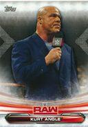 2019 WWE Raw Wrestling Cards (Topps) Kurt Angle 44
